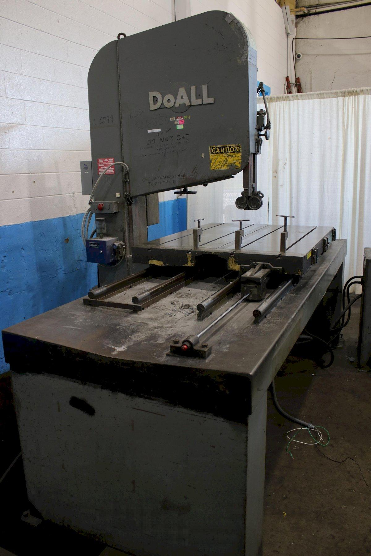 """36"""" DOALL BAND MILL MODEL #ZS3620: STOCK #74289"""