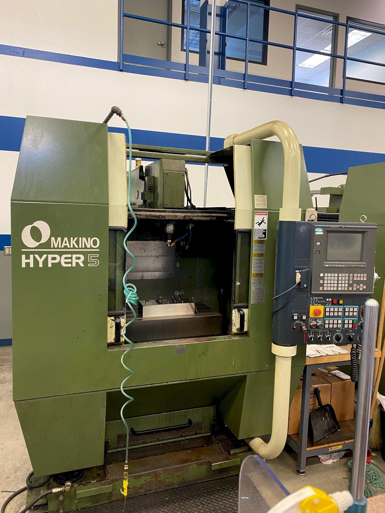 Makino Hyper 5 Vertical Machining Center