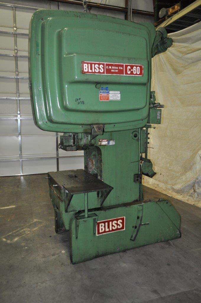 60 Ton Bliss OBI Press