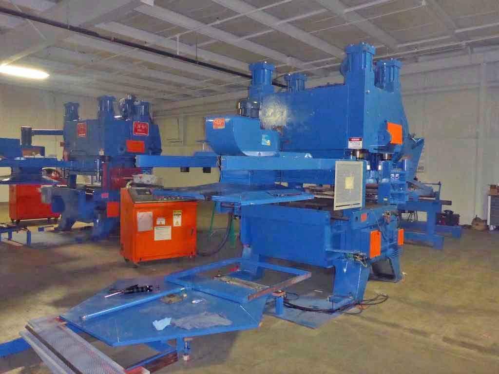 100 Ton Oak Fin Press Line