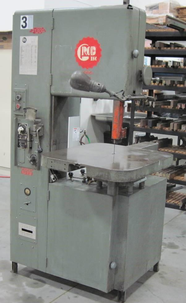 Grob Vertical Band Saw Model 4V-18