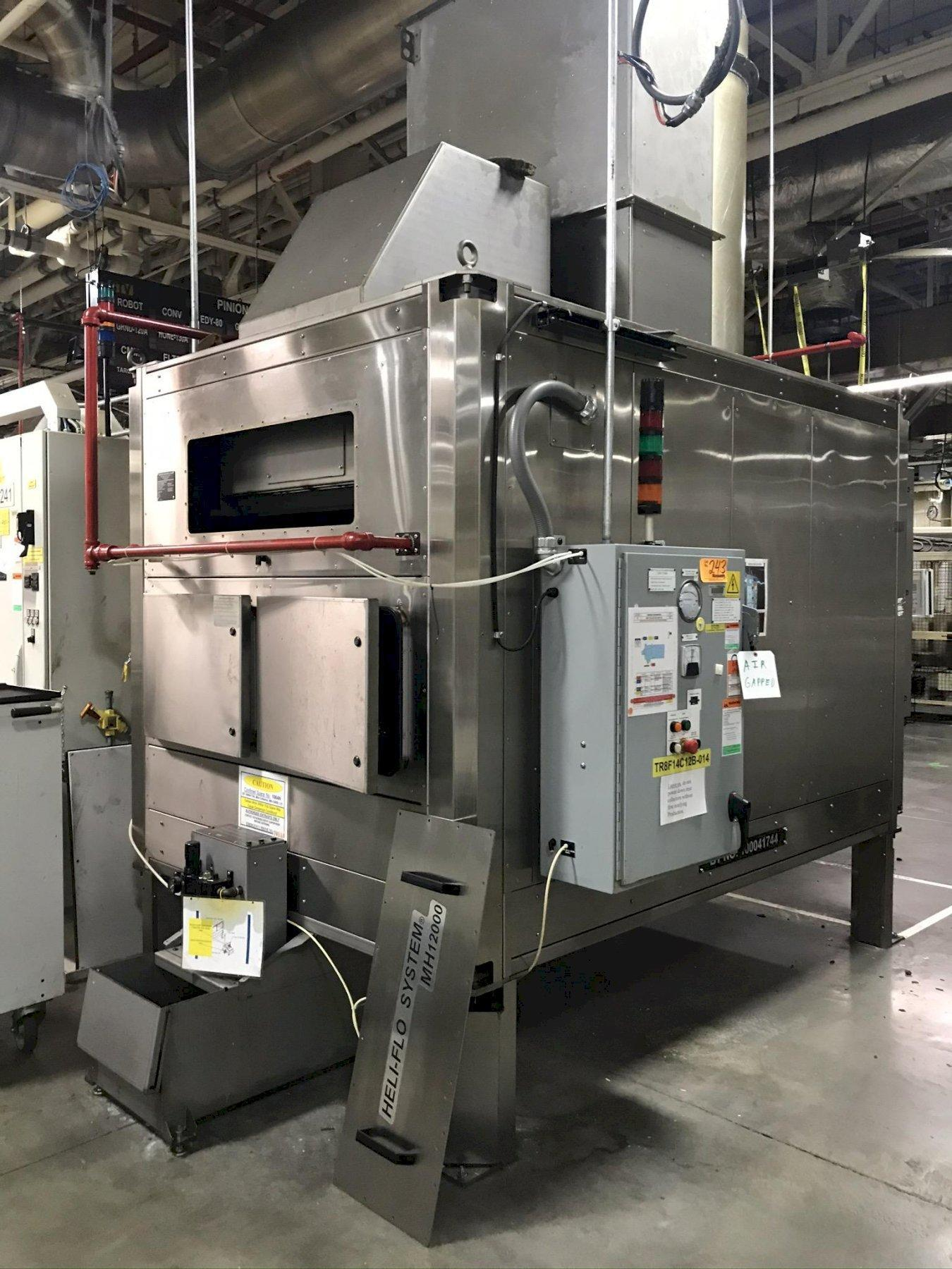 USED HELICAL DYNAMICS 12,000 CFM OIL / MIST COLLECTOR, Stock # 10756, Year 2006