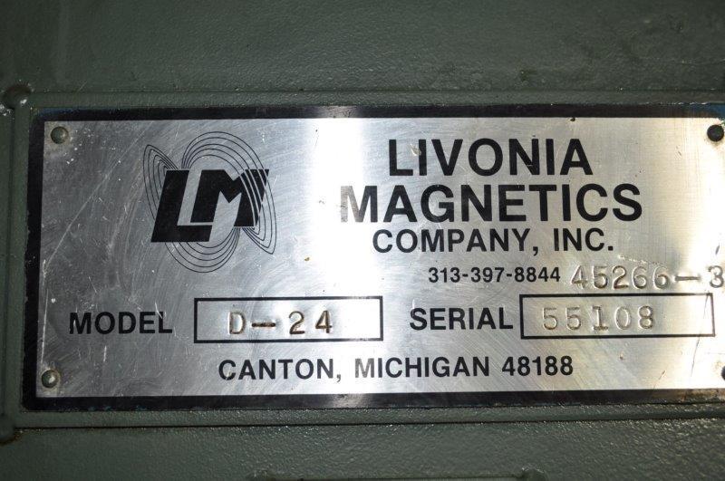 "22"" x 240"" LIVONIA MAGNETIC  SCRAP CONVEYOR"