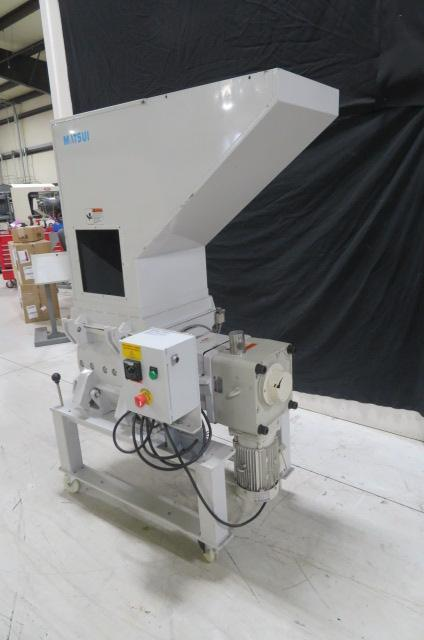 Matsui Used SMGL-300U Granulator,  16 x 16 in,  23.9 x 21 in chute, 3hp, 230V, Yr. 2013