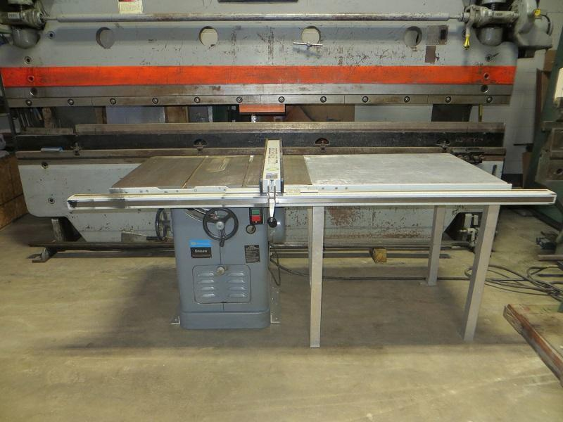 """10"""" Delta Unisaw Table Saw w/ Beisemeyer Fence System"""