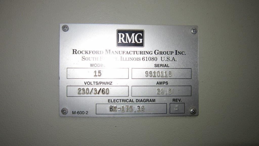 "5/16""  RMG Model 15 Wire Straighten & Cut Machine"
