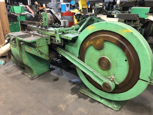 Waterbury Farrel Model #50 Horizontal Hand Feed Thread Roller