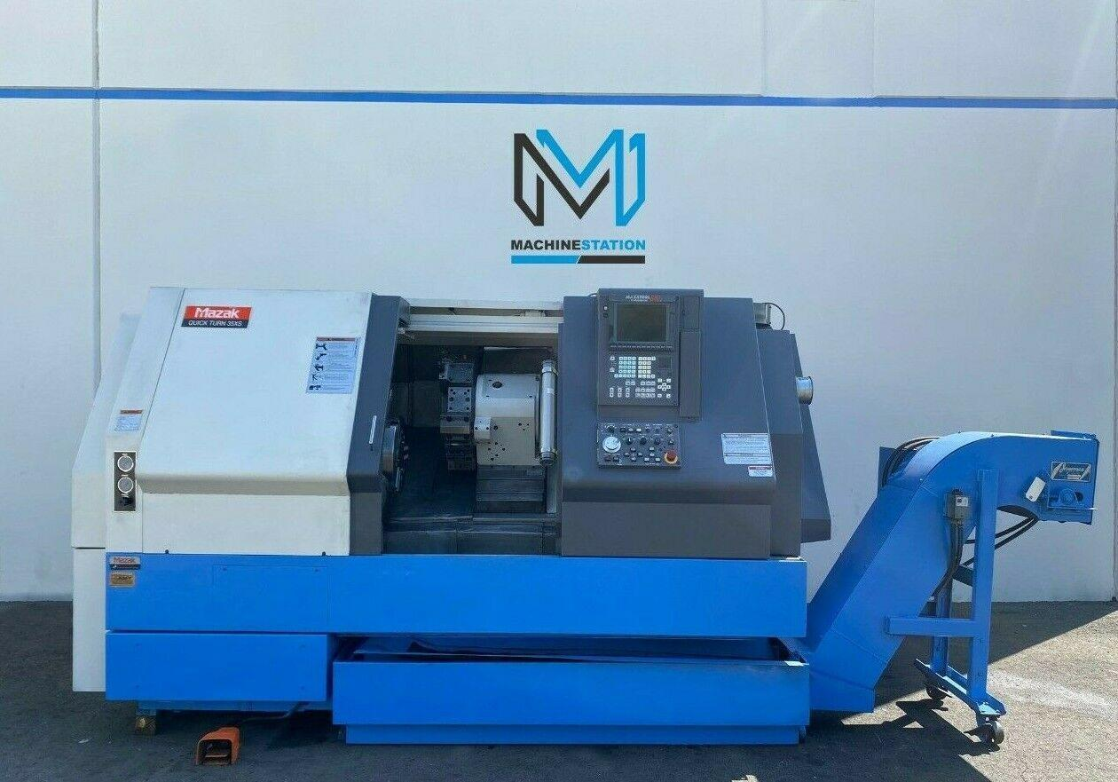 MAZAK QUICK TURN QT-35XS CNC Turning Center