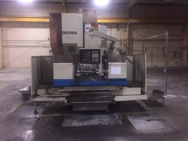 Okuma MC - 50VA Vertical Machining Center