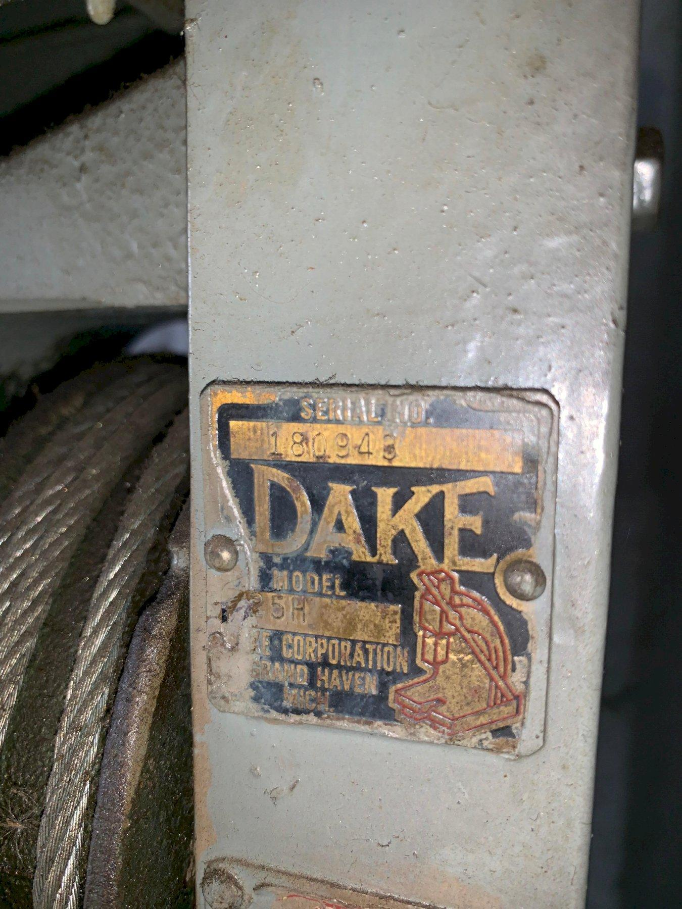 Dake 25T H Frame Press