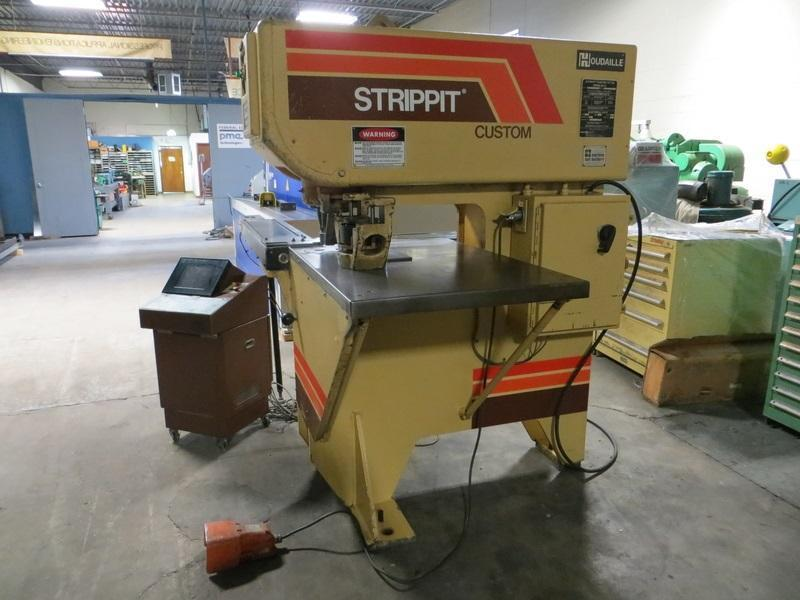 Used 30 Ton, Strippit Punch Model Custom 18/30