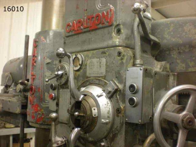 4' X 11' CARLTON RADIAL DRILL: STOCK 69131