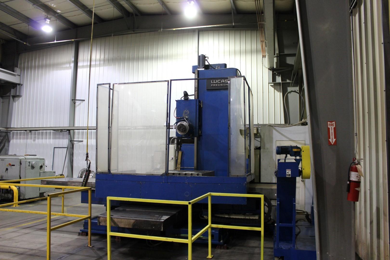 "5"" Lucas CNC Horizontal Boring Mill"