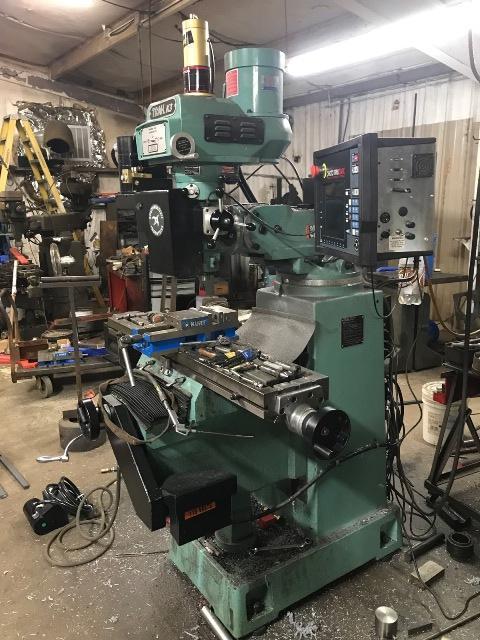 Southwestern Industries Trak K-3SX Knee Mill (2019) 3 Axis CNC Prototrak SMX CNC Control