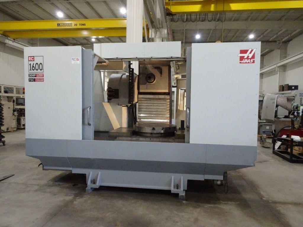 2005 HAAS EC-1600 4X - CNC Horizontal Machining Center
