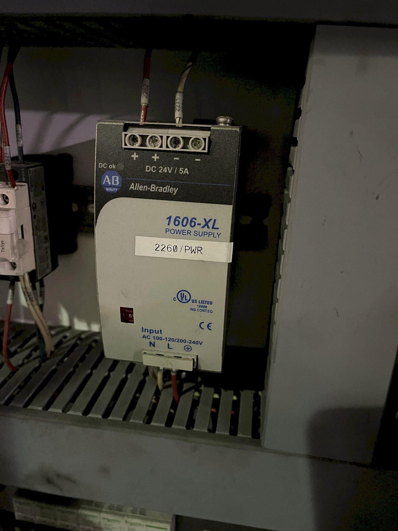 degassing control panel 