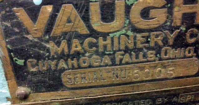 """3/8"""" MODEL 1-A VAUGHN CONTINUOUS WIRE ROLL POINTER (10695)"""