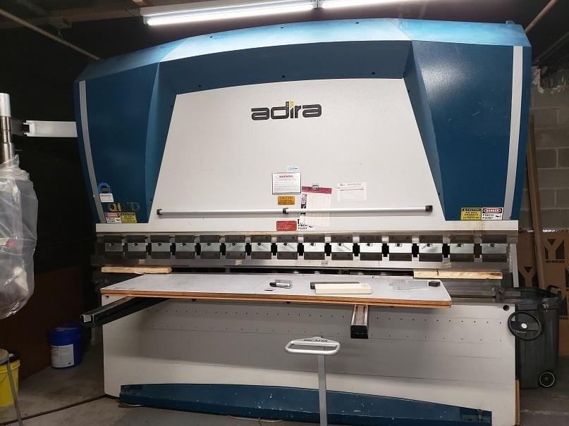 2008 Adira QIHD3100-10, 10' x 110 Ton CNC Hydraulic Press Brake