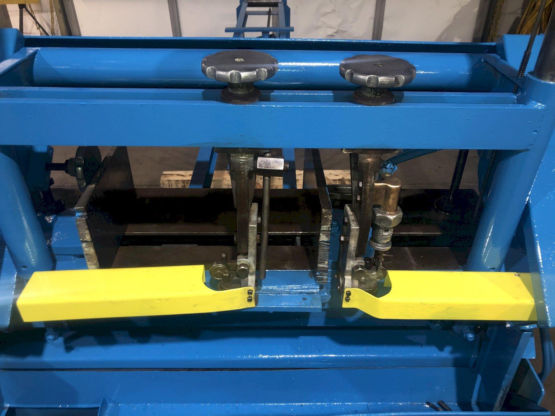 WF W F Wells W-9  Bandsaw Horizontal 9 x 18 Twin Post Miters