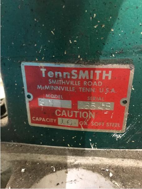 TennSmith 16 Ga Notcher