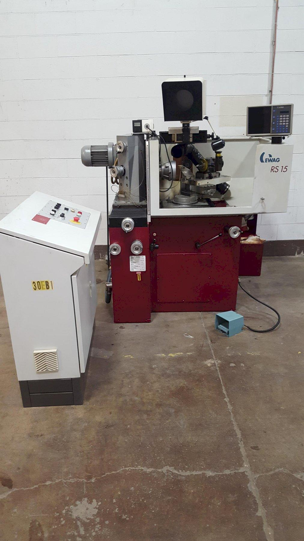 Ewag Model RS-15 6-Axis Precision Tool Grinding Machine