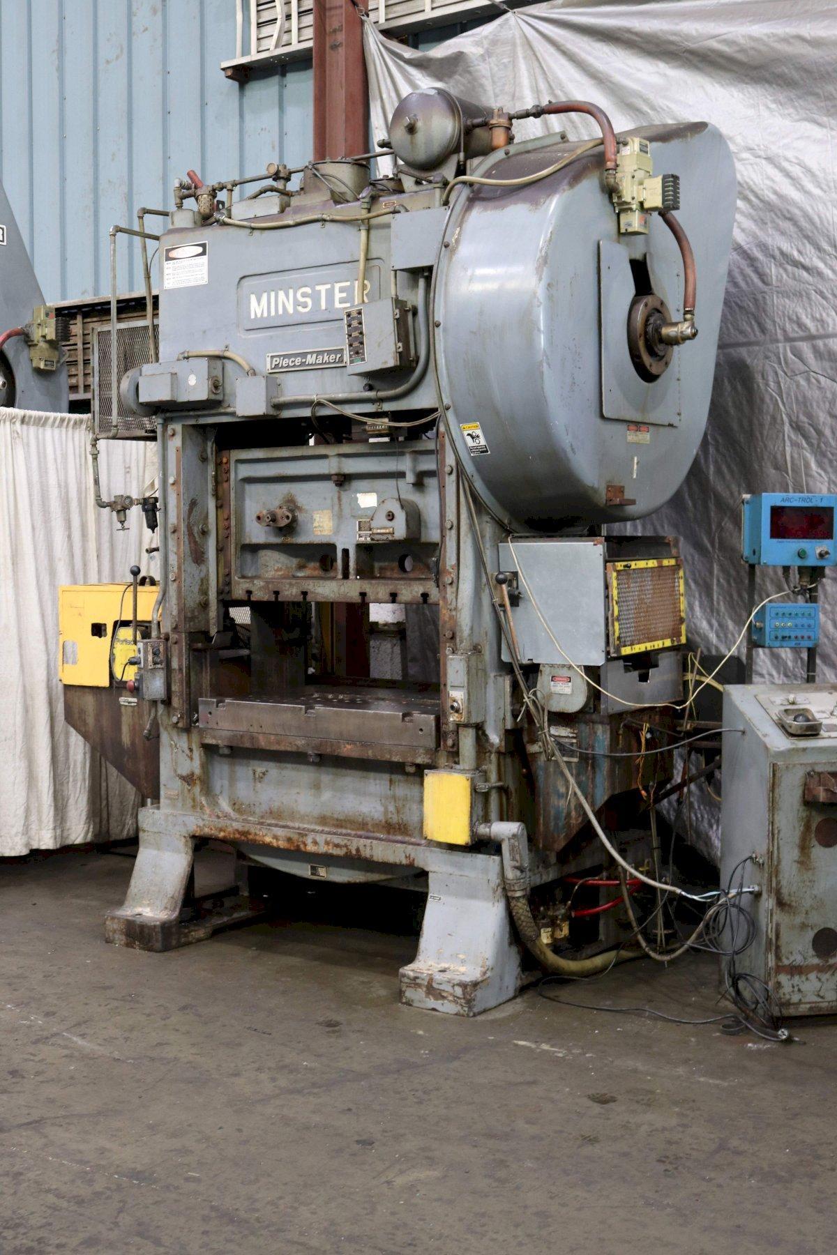 100 TON MINSTER MODEL P2-100 SSDC PRESS : 72976