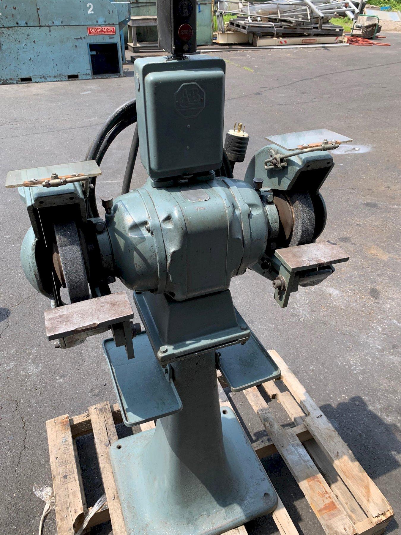 Baldor Heavy Duty Pedestal Grinder