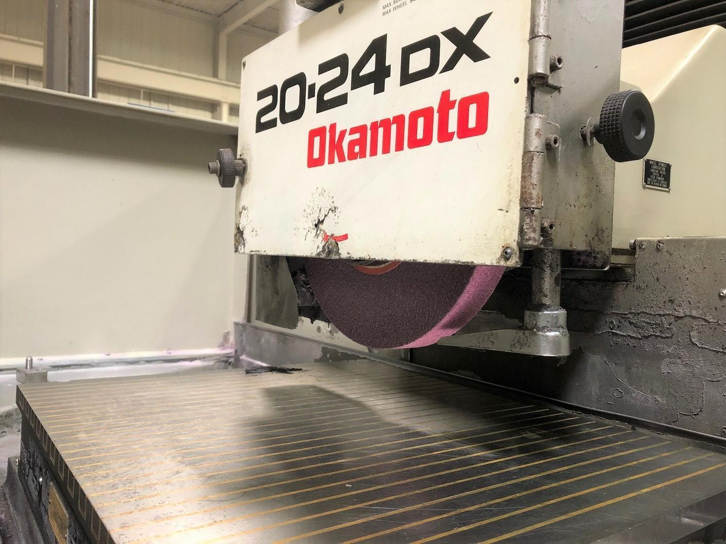 Okamoto ACC 20-24DX Surface Grinder