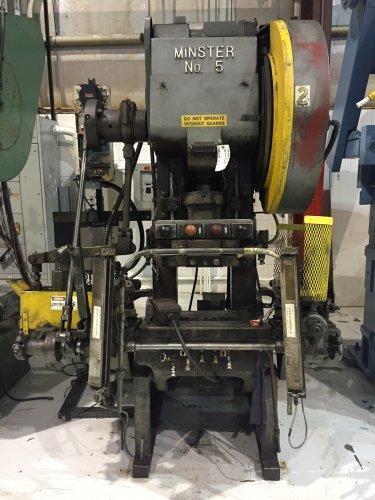 45 Ton MINSTER #5 C-Frame Press
