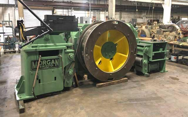 """1 1/4"""" (31.75mm)  Morgan Model HOR 50-H Horizontal In Line Wire Drawing Machine (13855)"""