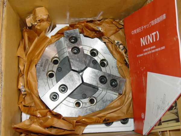 """8"""" Kitagawa 3-Jaw Model N8 S/N 6314"""