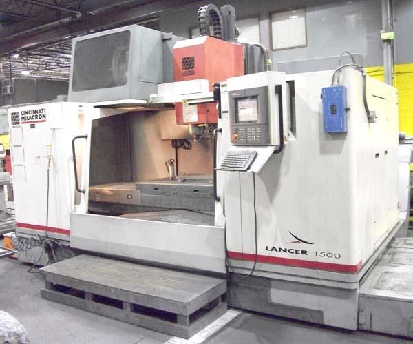Cincinnati Lancer-1500 CNC Vertical Machining Center