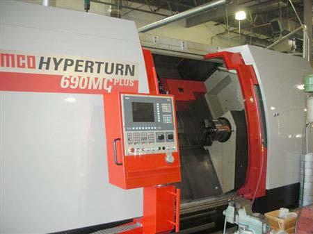 Emco Hyperturn 690MC Plus Multi CNC Turning Center
