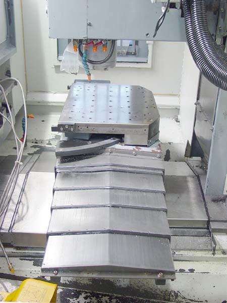 "LEADWELL FMC-560 2-Pallet, Fanuc 18 CNC Control, (2) 22"" x 16.1"" Pallets, X=22"", Y=16.5"", Z=17.7"", 12000 RPM, New 7/2004."
