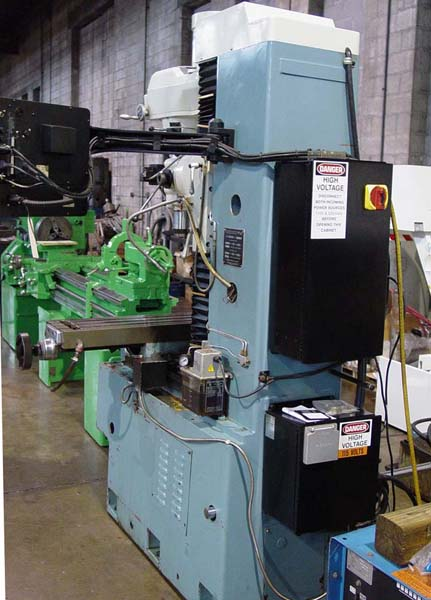 """SOUTHWEST INDUSTRIES DPM, DPM 3-Axis CNC, X=31"""", Y=17"""", Z=23.5"""", 3 HP, 4200 RPM, 40 Taper, New 1996."""