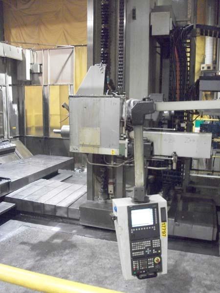 """6"""" Wotan 2_Pallet CNC Table Type Horizontal Boring Mill"""
