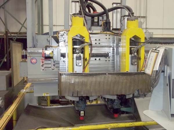 Northwood 120' X 120' 4 Head Twin Table CNC Vertical Router