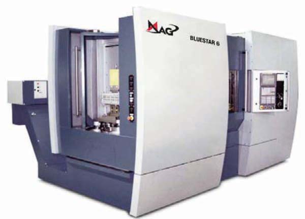 Mag Hueller Hille Bluestar 6 CNC Horizontal Machining Center