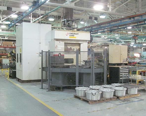 CINCINNATI CNC 5-Axis Machining & Turning Center