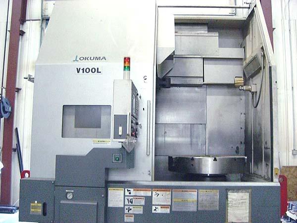 Okuma V-100 CNC Vertical Turning Center