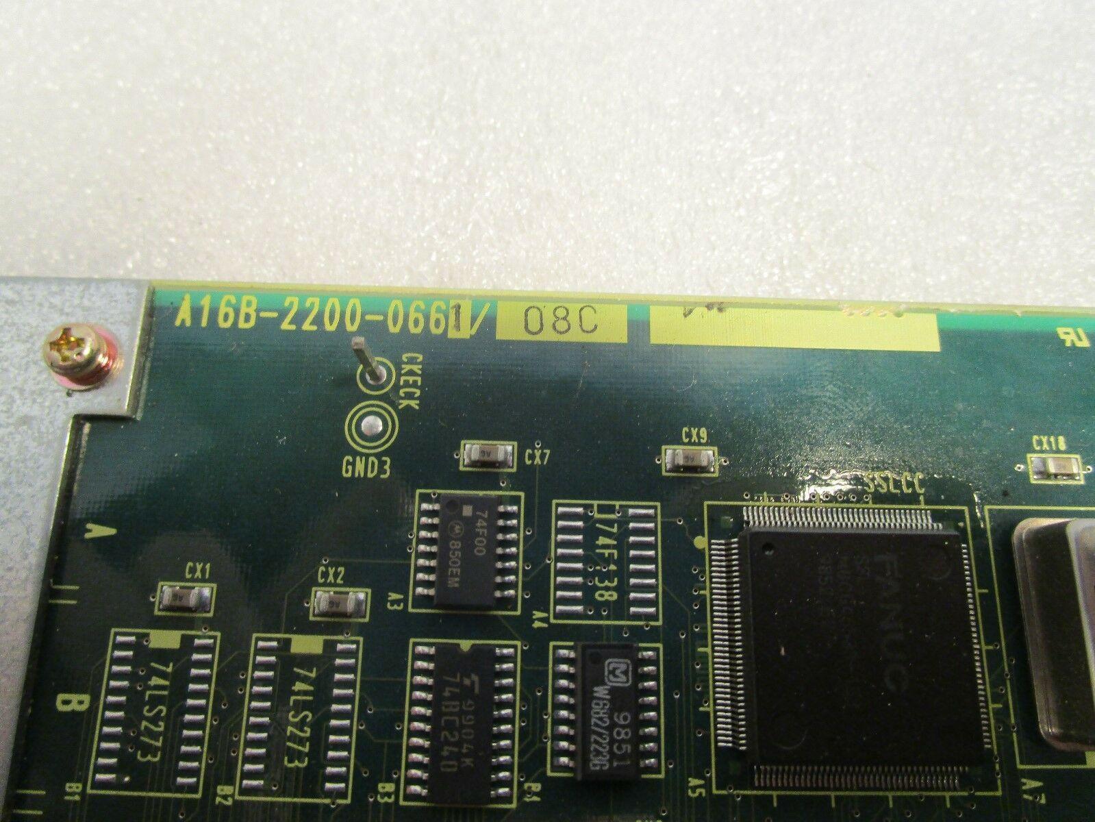 Fanuc Interface Board A16B-220-0661 /08C