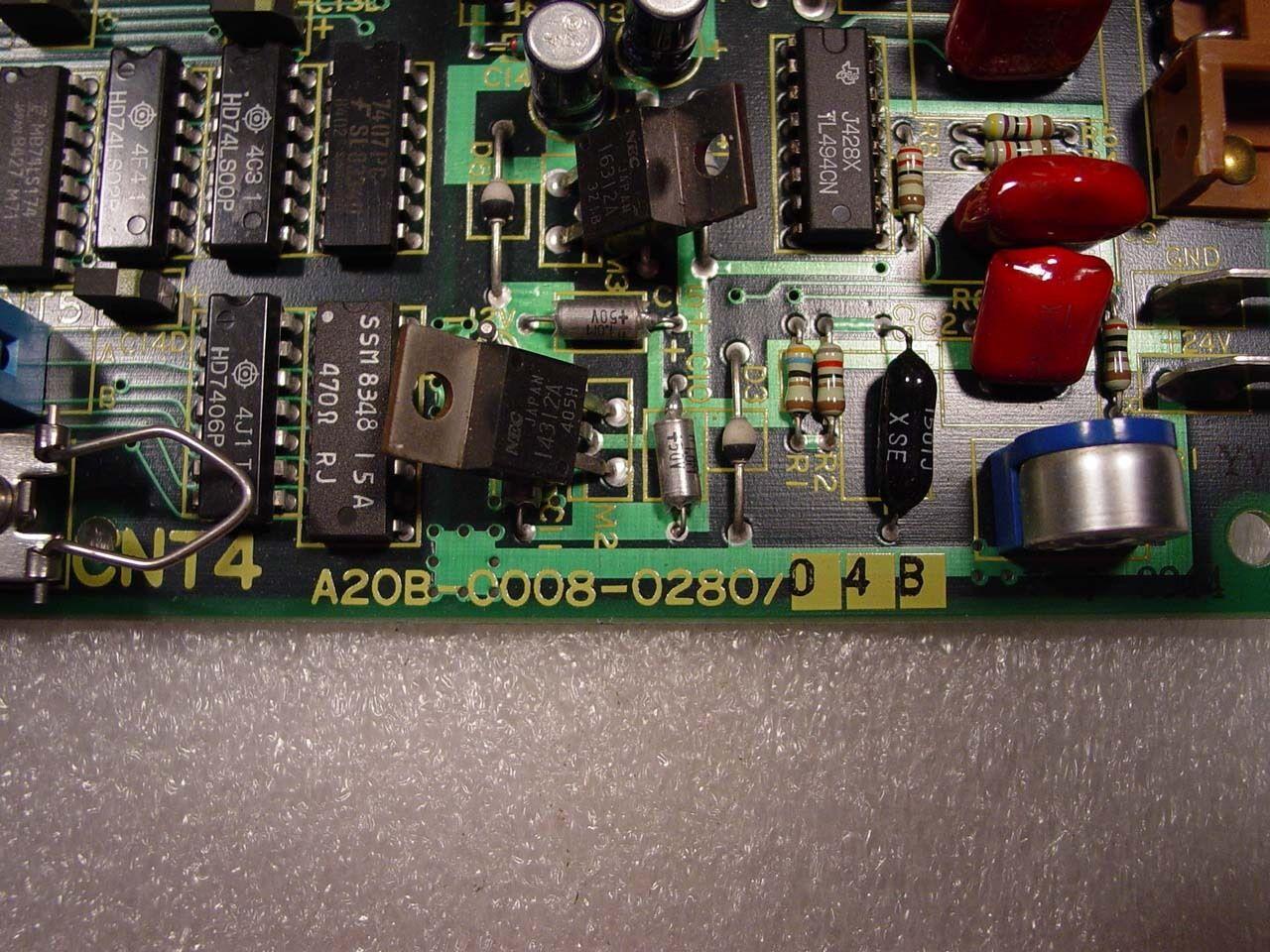 Fanuc Interface Board A20B-0008-0280/04B