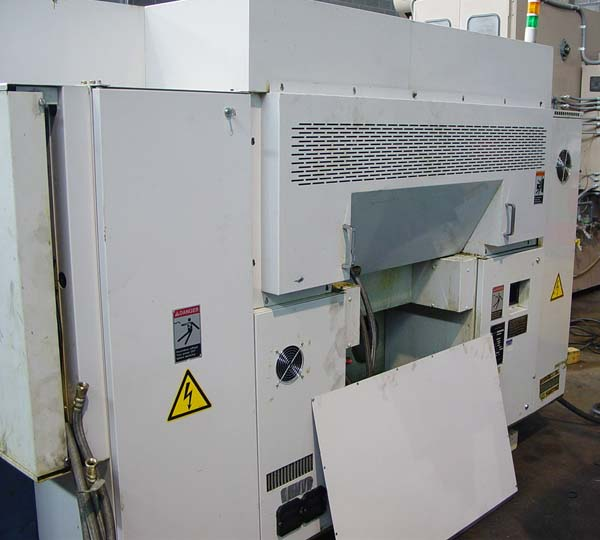 """MORI SEIKI DL-15Y, Mori MSC-518 (Fanuc 16TB) CNC Control, Twin Spindle, Twin Turret, Live Tooling, Y-Axis, 7.8"""" Max Turning Diameter, 7.9"""" Turning Length, New 1997."""