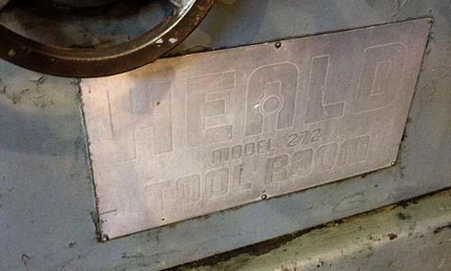 "272 HEALD Toolroom, Trak Digital Read Out, 18"" Chuck, 24"" Swing inside Coolant Guard, 21"" Max Hole Diameter, 14"" Max Hole Depth, New 1958."