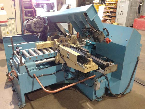 """12"""" x 12"""" Doall Model C-305A, Multi Index Auto Stock Feed, Auto Down Feed, 5 HP, Coolant, New 1998."""