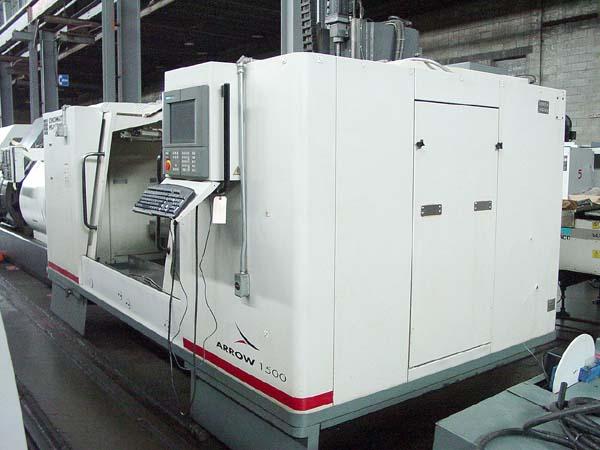 """Cincinnati Arrow 1500, Acramatic 2100 CNC Control, X=60"""", Y=30"""", Z=30"""", 8000 RPM, 21 Station Tool Changer, New 1999."""