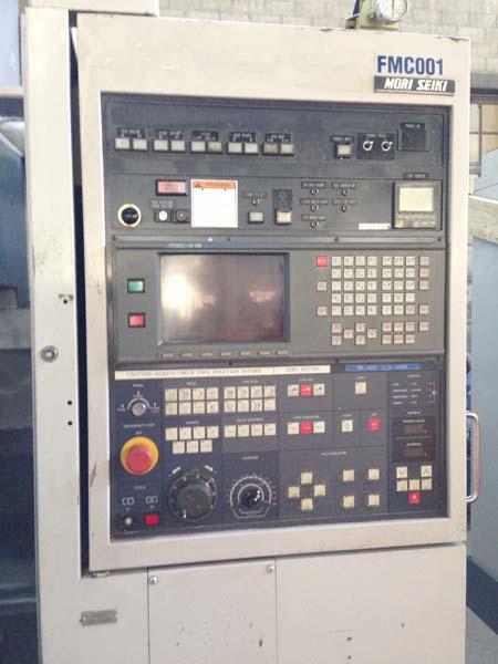 "Mori Seiki MV-40M, Fanuc 18m CNC Control, X=22"", Y=16"", Z=18"", 40 Taper, 8000 rpm, 20 ATC, New 1996."