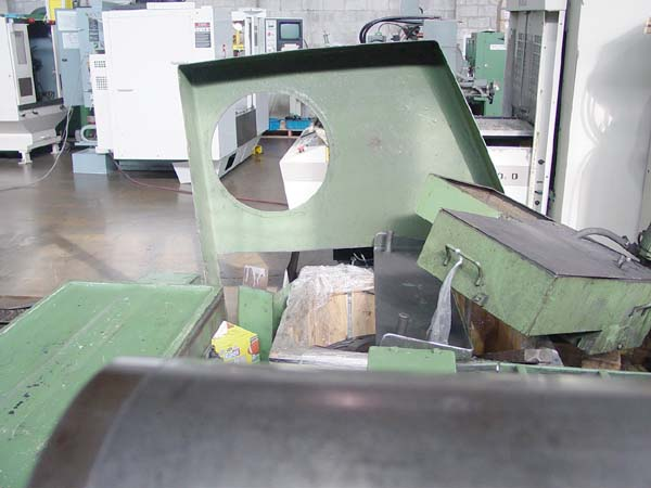 """AMERICAN 4025, Fanuc 0T CNC Control, 45"""" Swing Over Bed, 25"""" Over Cross, Tail stock with 80"""" Centers, 50 HP, 6 Position Turret, 1998."""