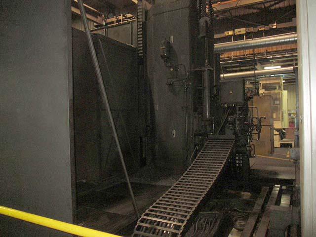 "6"" Cincinnati Milacron Model T-BAR, IBH Automation CNC Control, (2) 49.2"" Pallets, X=84"" Y=72"", Z=60"", Quill =24"", 60 HP, 2400 RPM, New 1994, Retrofit 2004."