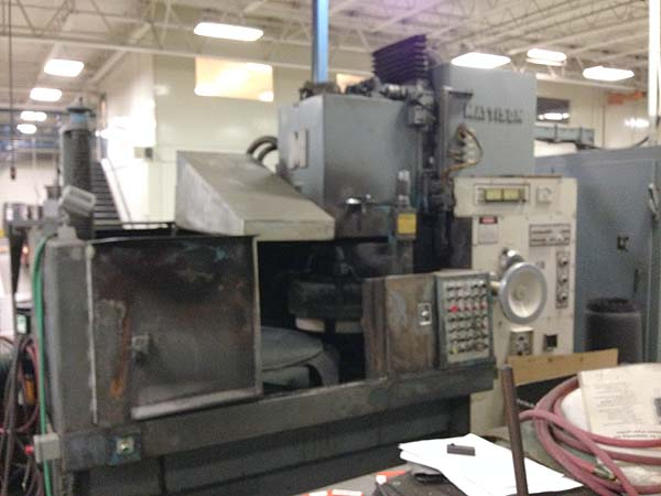 "48"" MATTISON VERTICAL SPINDLE, 48"" Magnetic Chuck,48"" Swing, 24"" Grinding Wheel, Incremental Down Feed, 50 HP, Marposs Gauging, 24"" Max Work Height, From Aerospace ! New 1984."